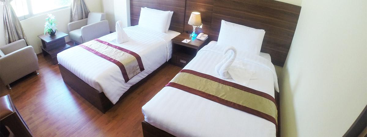 Silver Green Hotel Yangon Myanmar Easy Access To